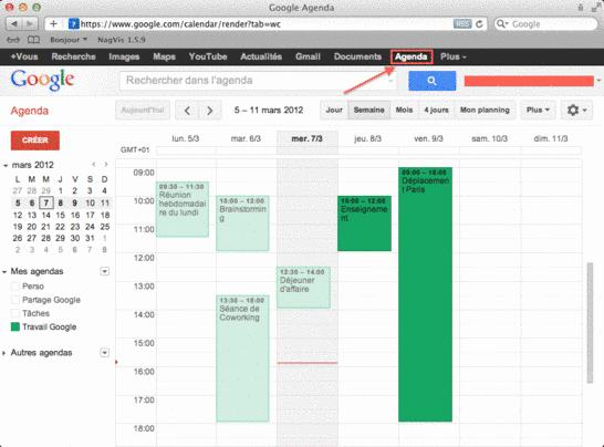 Partager Calendrier Gmail.Importation D Un Agenda Google Dans Sogo Services