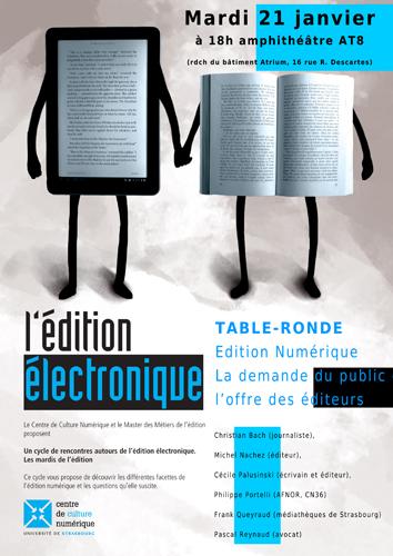 Compte Rendu De La Table Ronde Dition Num Rique La Demande Du Public Et L Offre Des